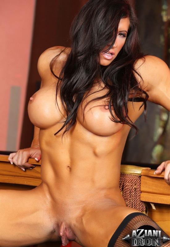 Porn star strip tease