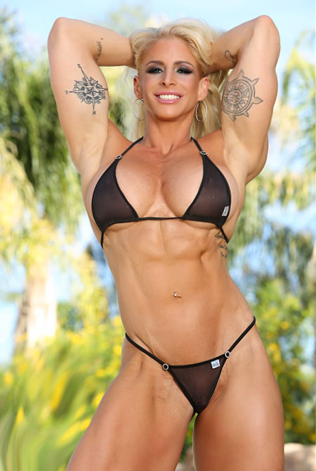 Love sucking female pornstar bodybuilders she perfect